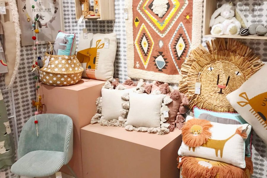 AmericasMart Kids Booth by top Houston lifestyle blogger Ashley Rose of Sugar & Cloth
