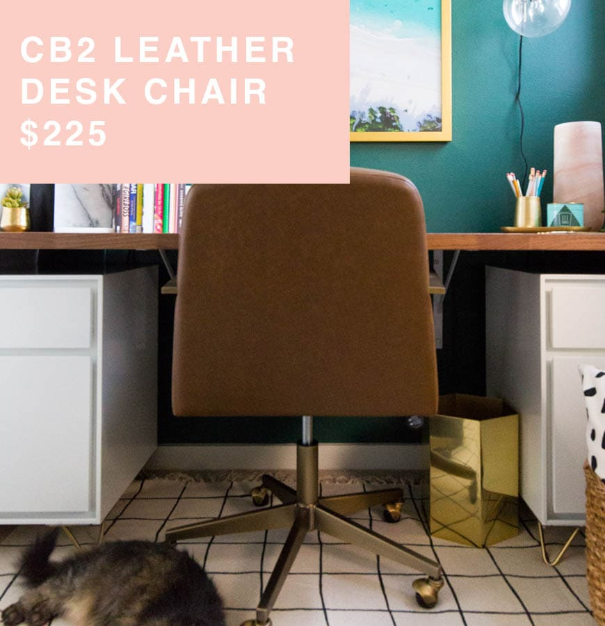 CB2 desk chair for sale