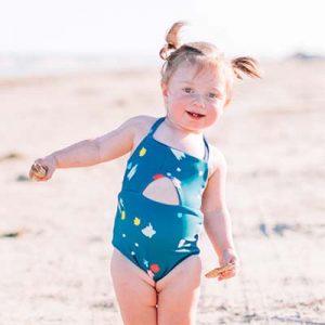 Malibu One Piece Sugar & Cloth x Olivia + Ocean Confetti