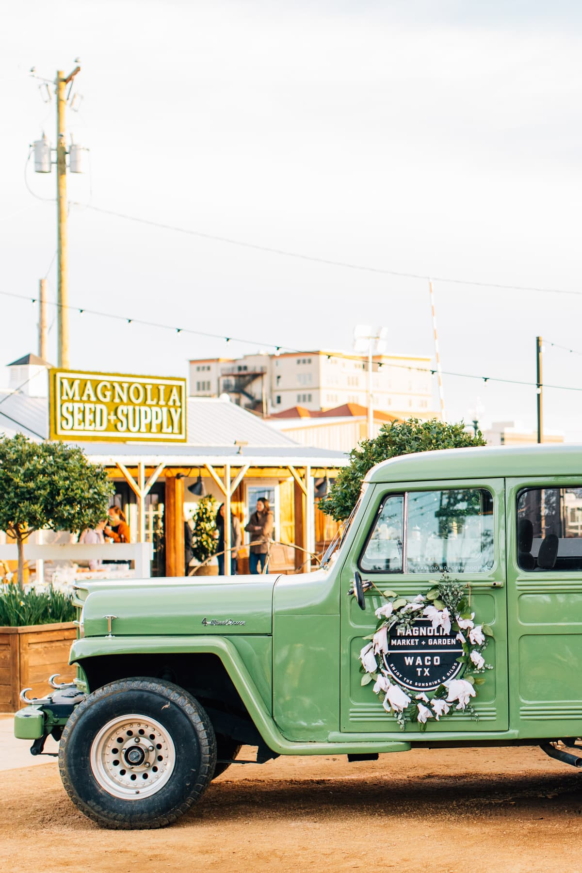 Magnolia Market Seed + Supply Shop by top Houston lifestyle blogger Ashley Rose of Sugar & Cloth for Texas Monthly