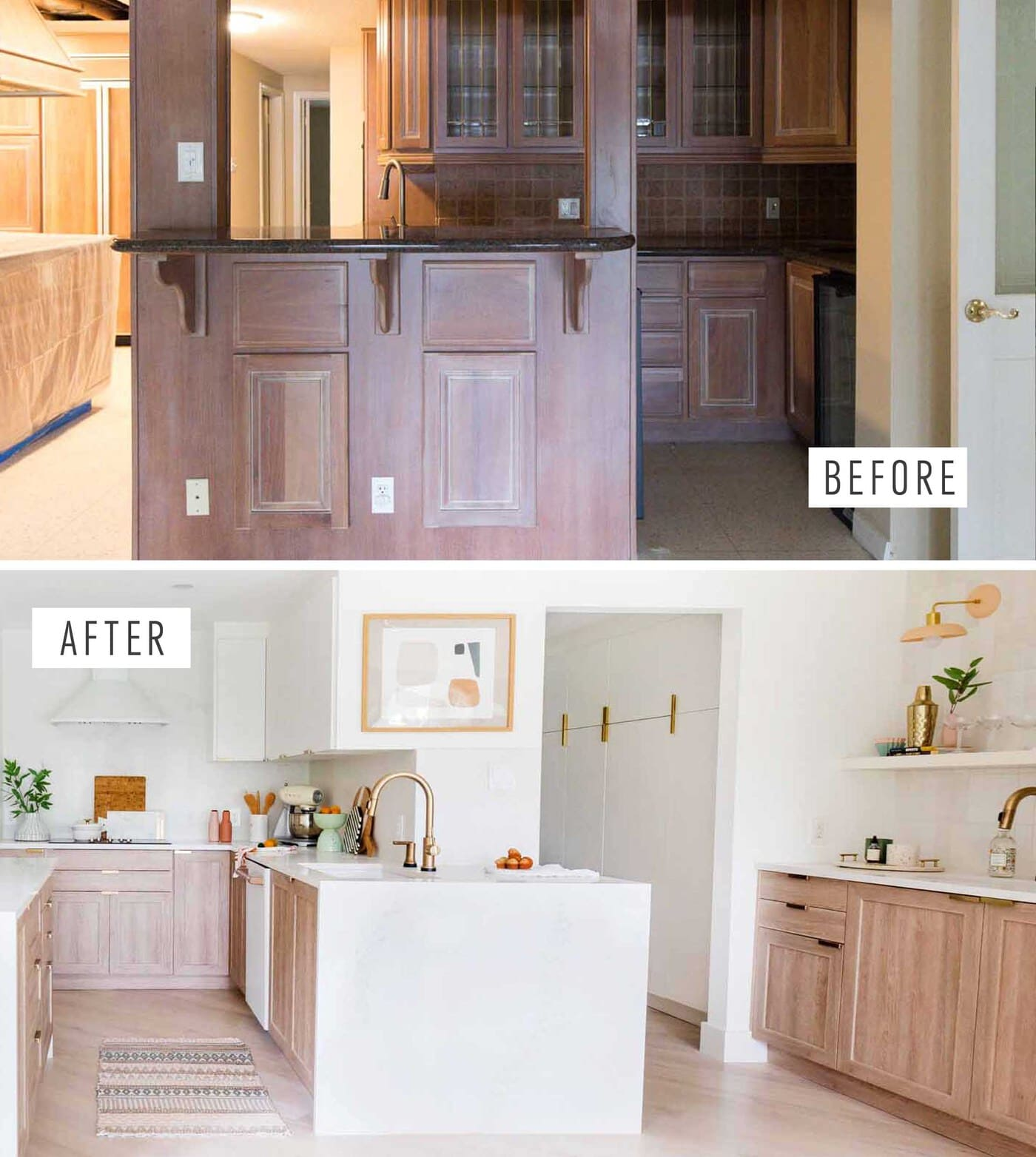 Pleasing Sharing Our Kitchen Before And After Sugar Cloth Best Image Libraries Thycampuscom