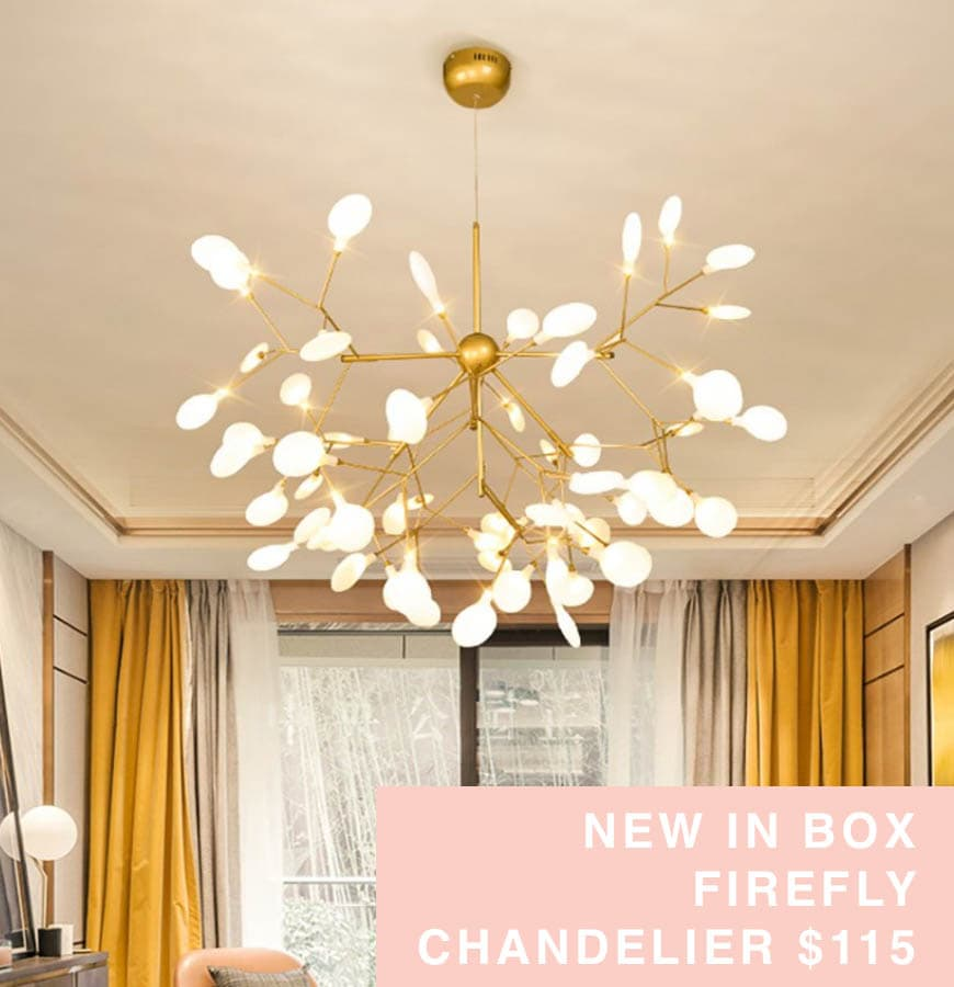firefly chandelier for sale