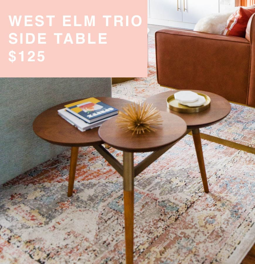 west elm side table for sale