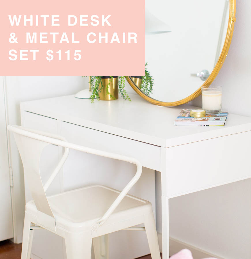 white desk for sale