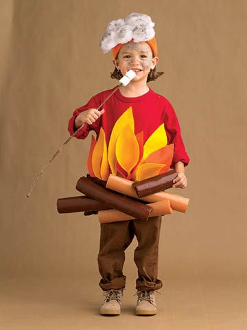 Campfire DIY Halloween costume
