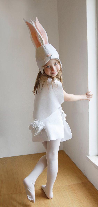DIY bunny costume for halloween