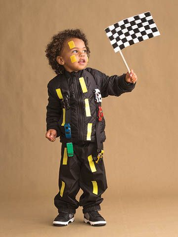 Road Racers DIY Halloween costume for kids