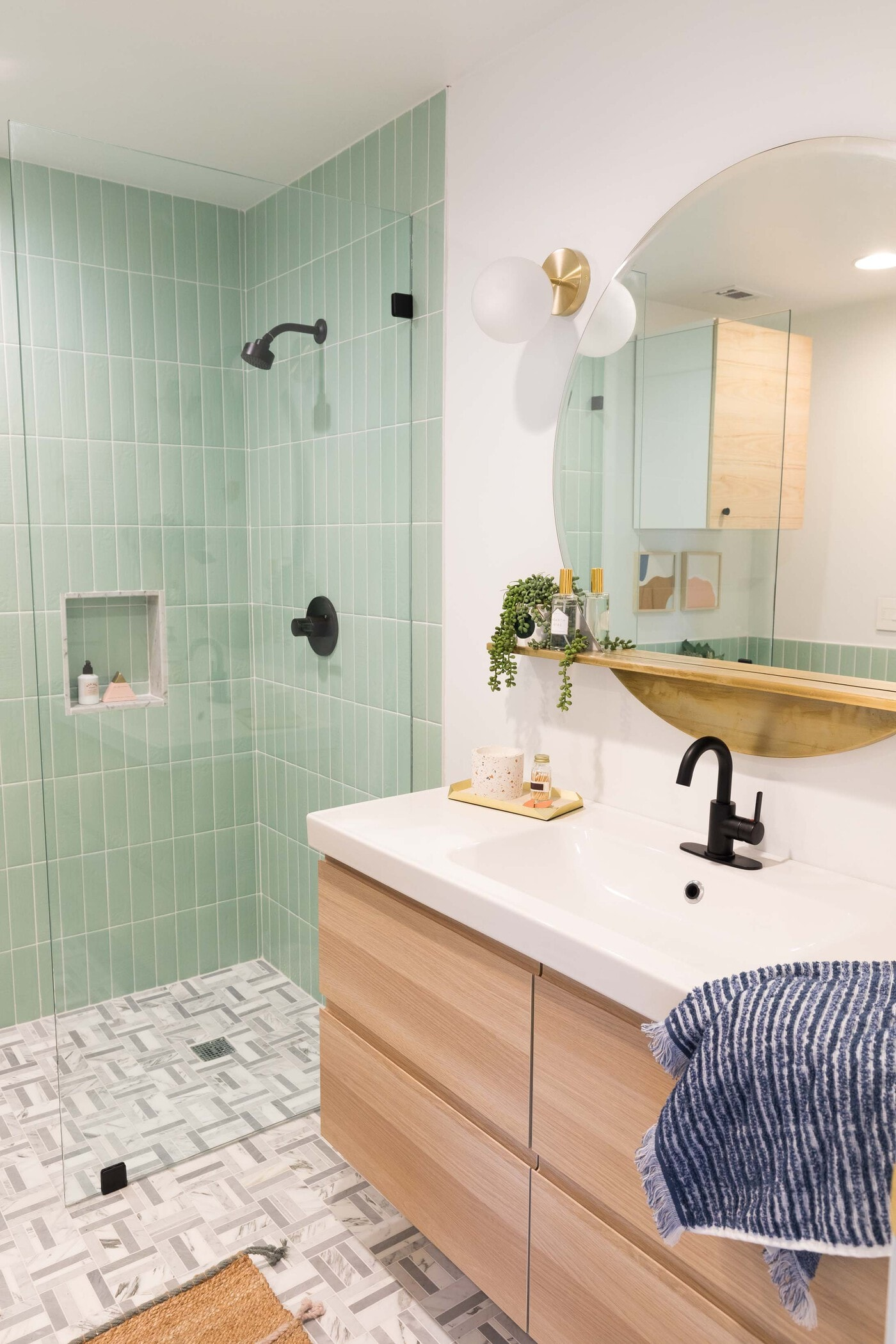 Our House Guest Bathroom Remodel Reveal Sugar Cloth