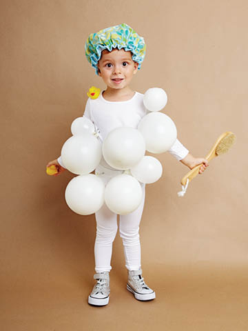 Bubble bath DIY costume