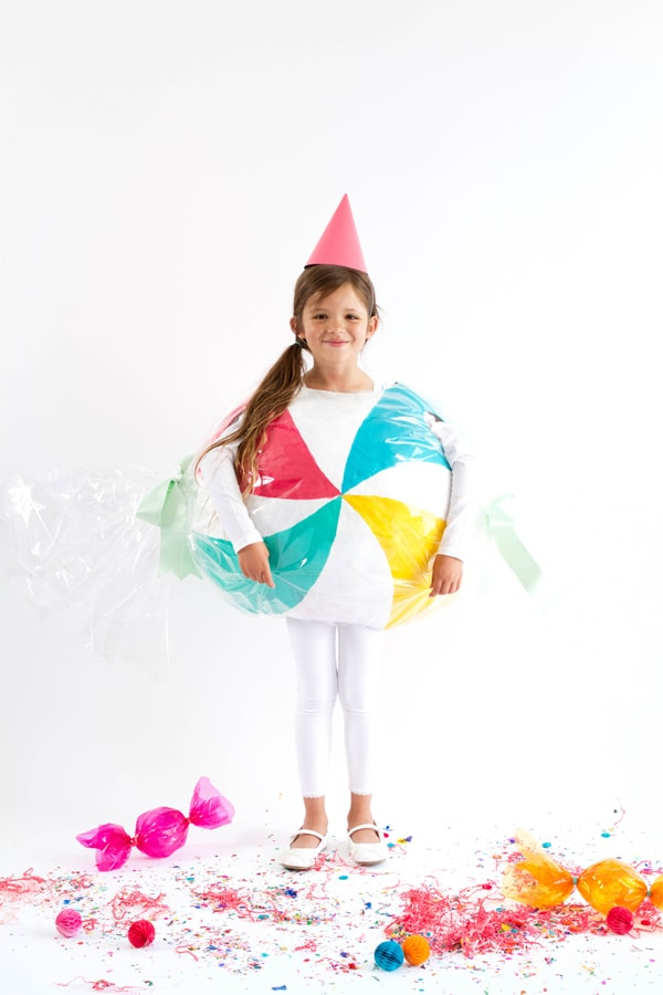 piece of candy diy halloween costume for kids