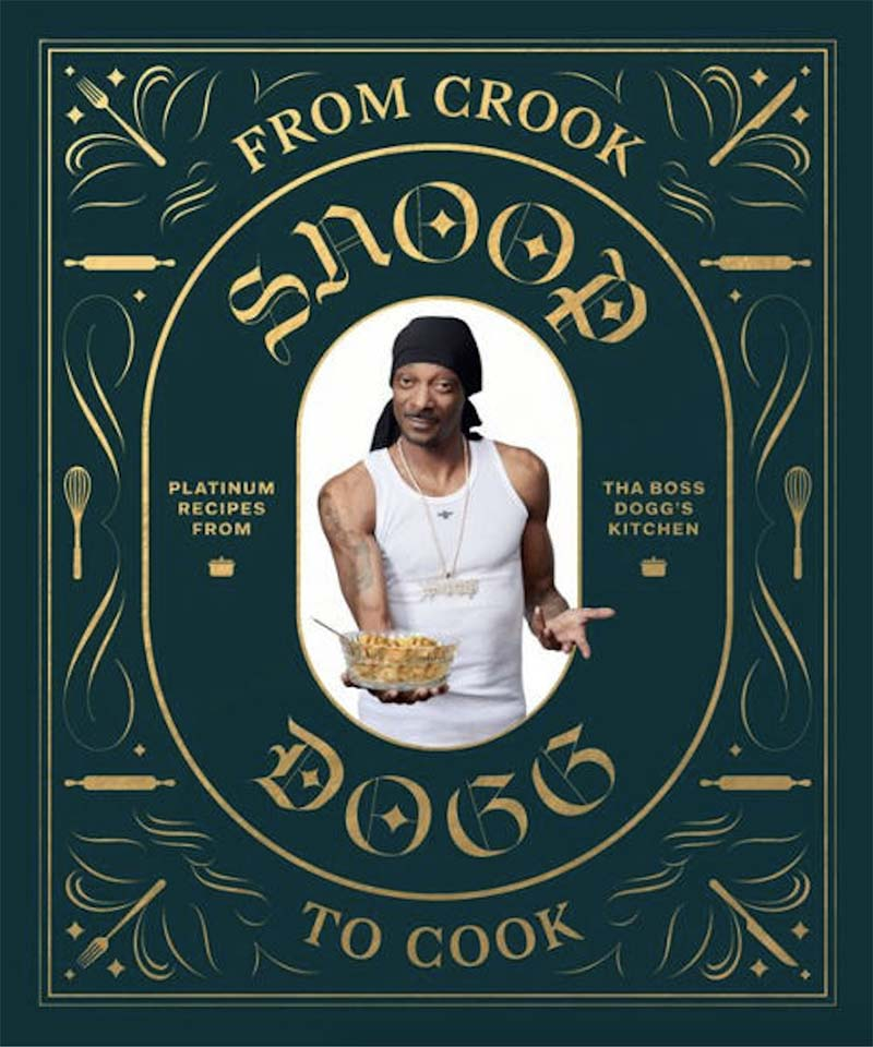 photo of book 'From Crook to Cook' by Snoop Dogg
