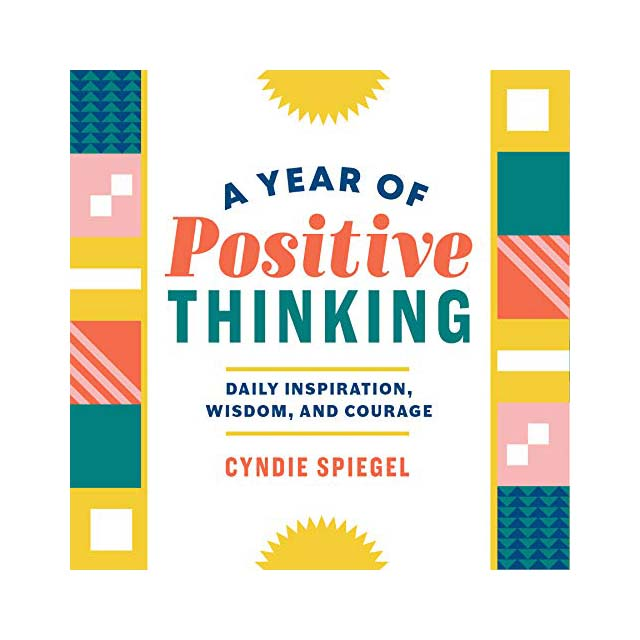 A Year of Positive Thinking book cover