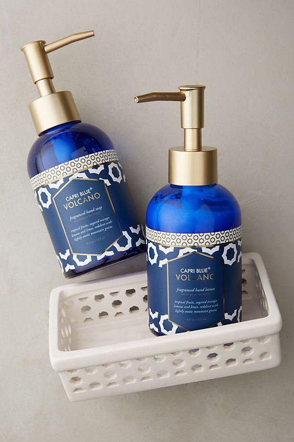 photo of Capri Blue Volcano lotion and hand soap set