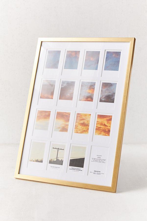 gold framed instant photo frame