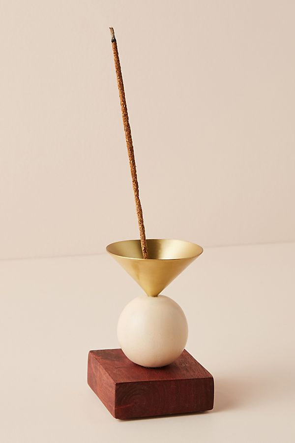 photo of a modern incense holder