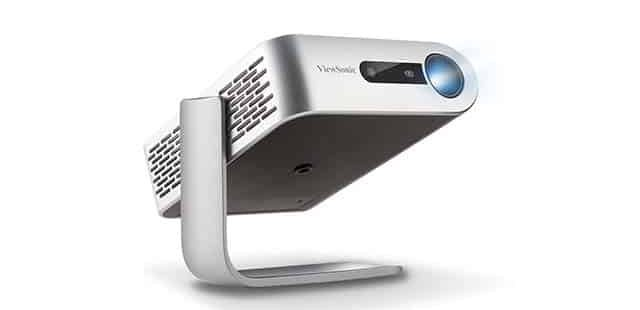 photo of portable projector