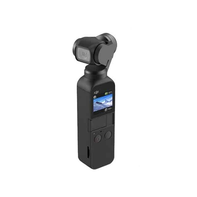 photo of Osmo Pocket Handheld 3 Axis Gimbal with Integrated Camera