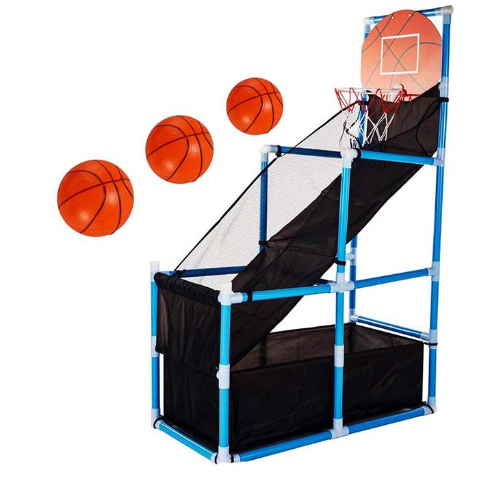 photo of kids indoor basketball hoop set