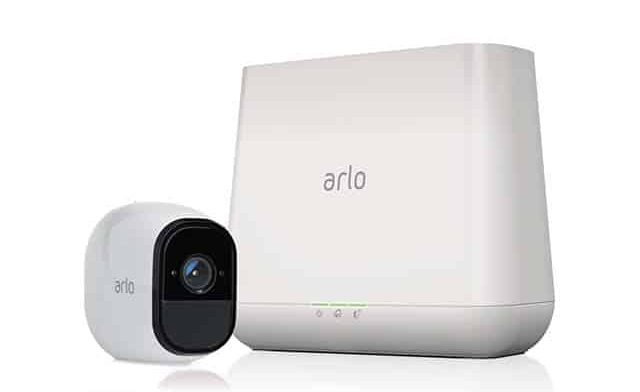photo of Arlo home security system