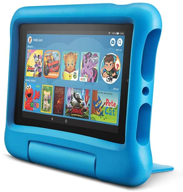 photo of kids gaming tablet