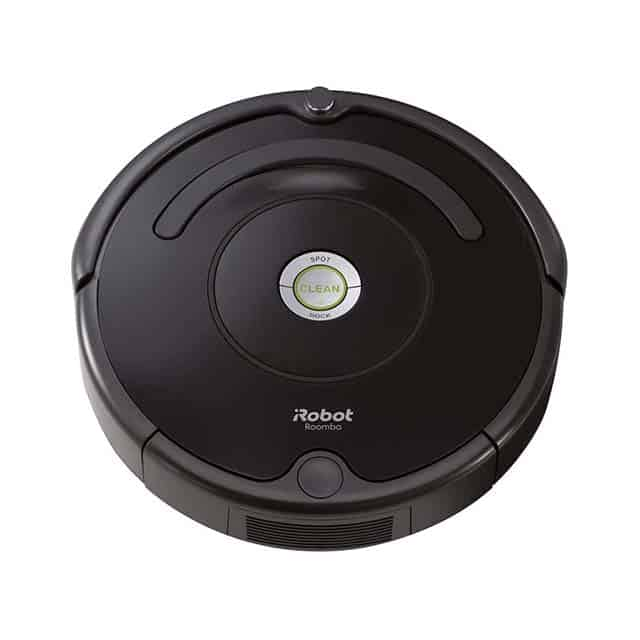 photo of black iRobot roomba vaccuum