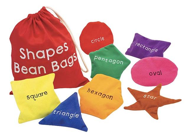 photo of different shaped bean bags for kids