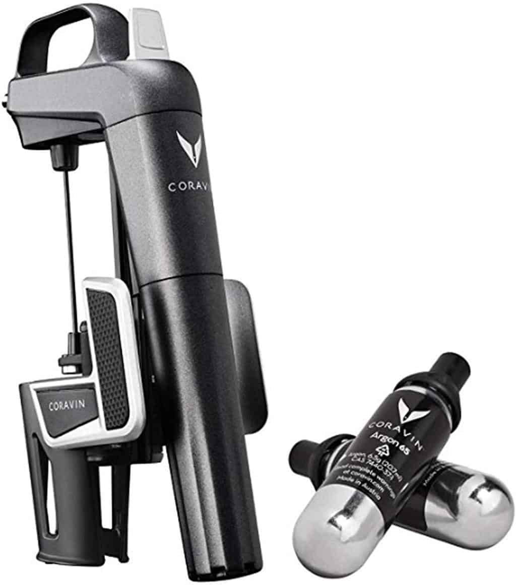 photo of Coravin wine saver
