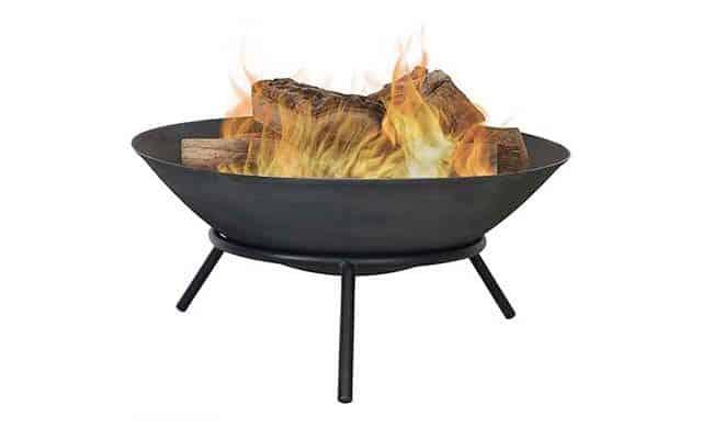 photo of Sunnydaze Cast Iron Fire Pit Bowl