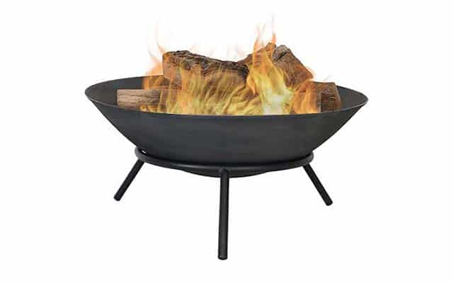 photo of Sunnydaze Cast Iron Fire Pit Bowl