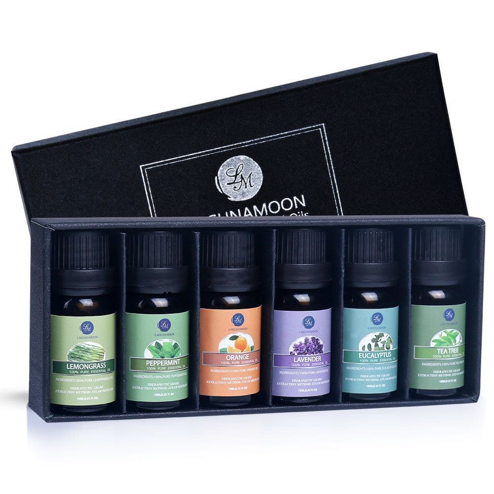 photo of a set of essential oils