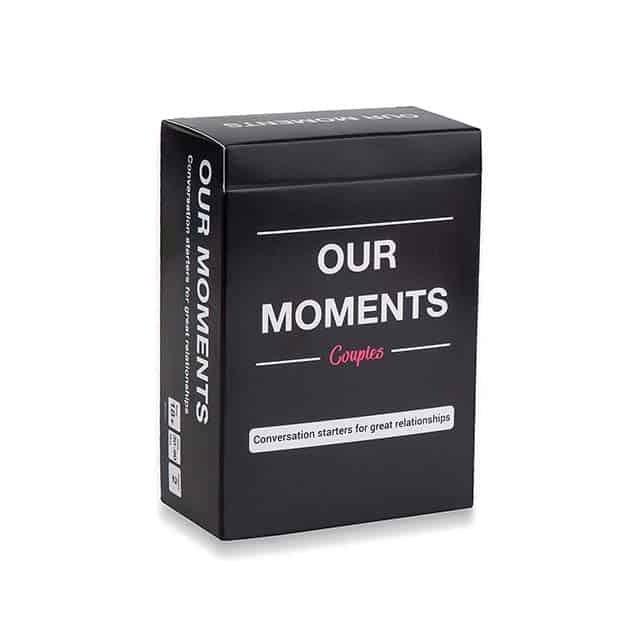 photo of Our Moments card game for couples