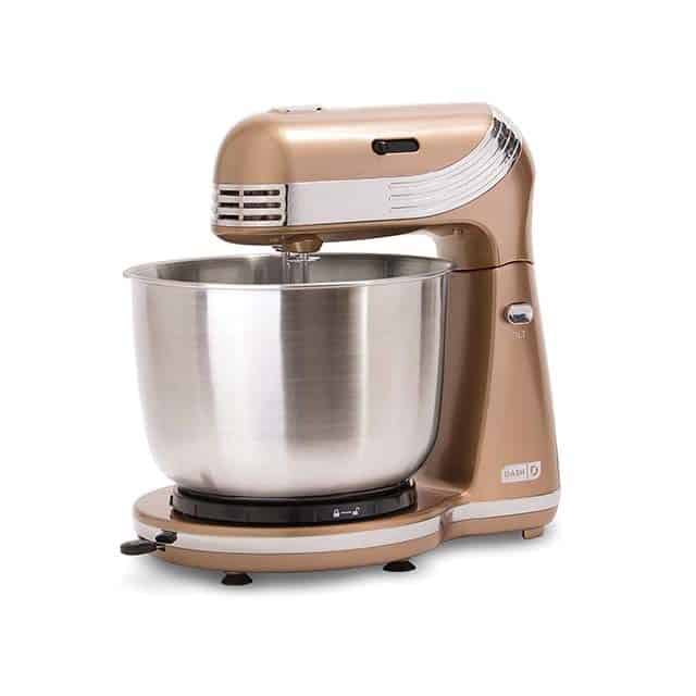 photo of Dash Stand Electric Mixer in bronze stainless steel