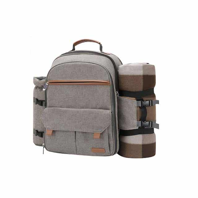 photo of a picnic backpack