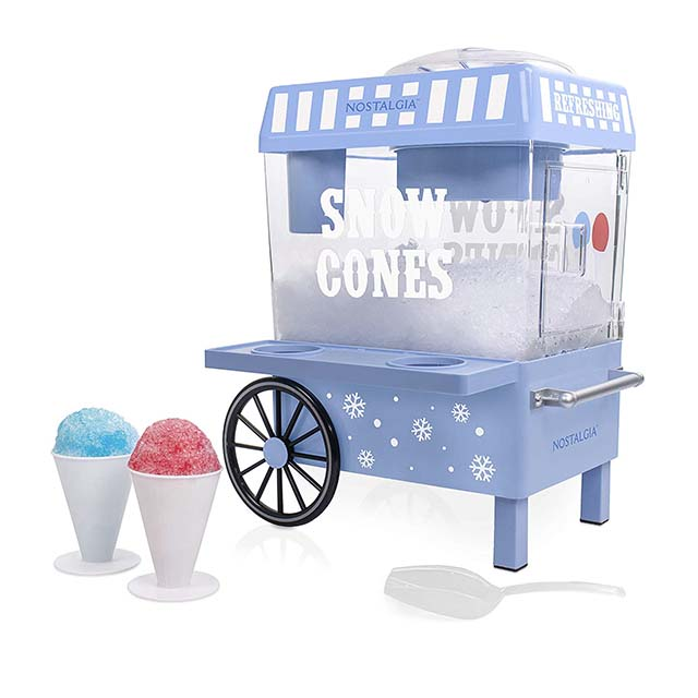photo of snow cone stand for kids