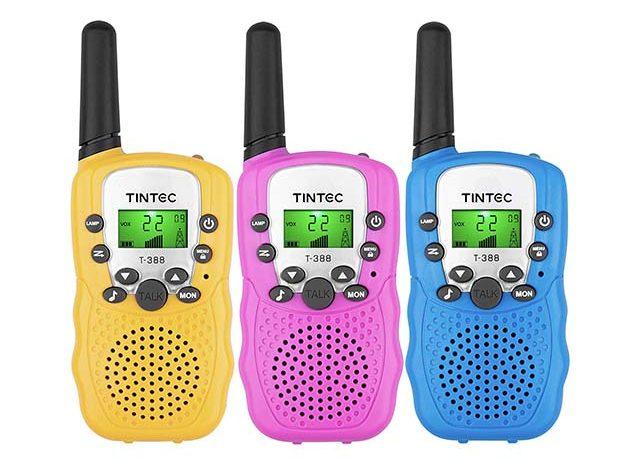 photo of 3 walkie talkies