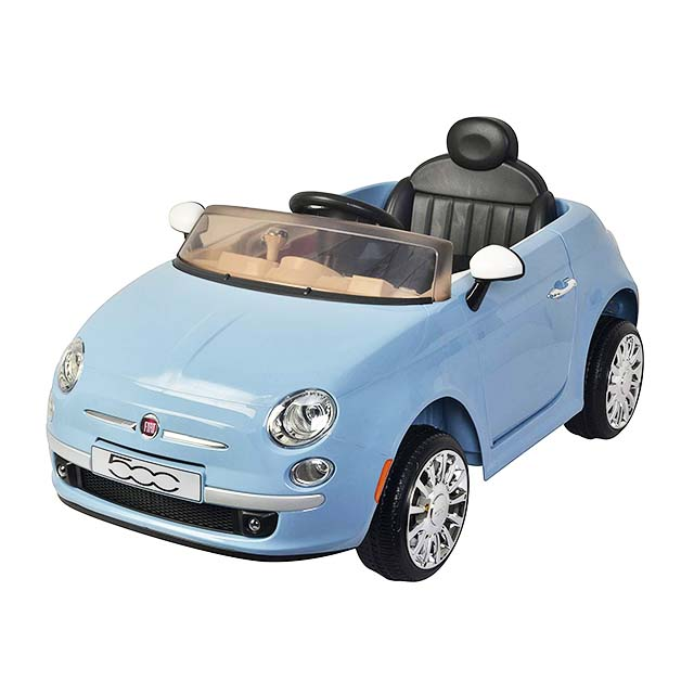 photo of kids fiat convertible
