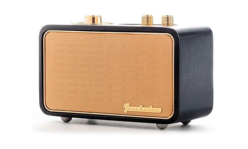 photo of a vintage looking wireless speaker
