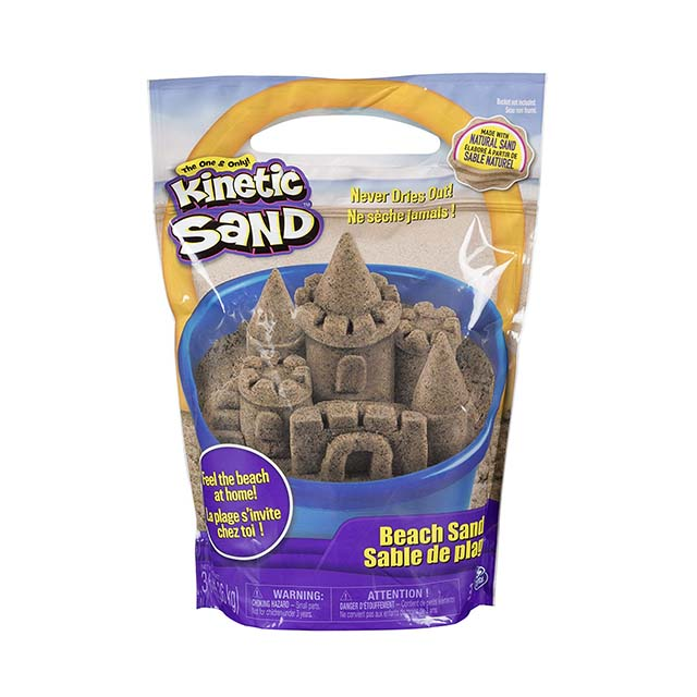 photo of a bag of kinetic sand
