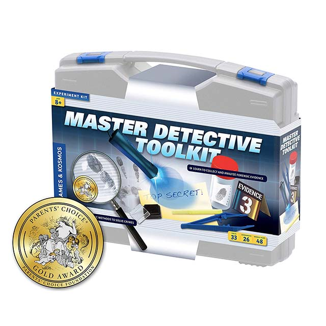 photo of a master detective toolkit for kids