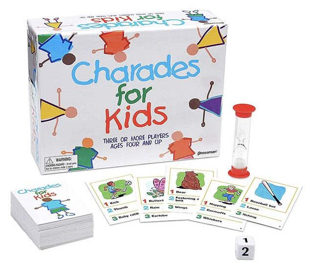 photo of charades for kids game set