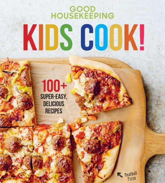 photo of kids cook! book by good housekeeping