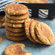 photo of the Best Snickerdoodles Recipe With A Bite by top Houston lifestyle blogger Ashley Rose of Sugar & Cloth