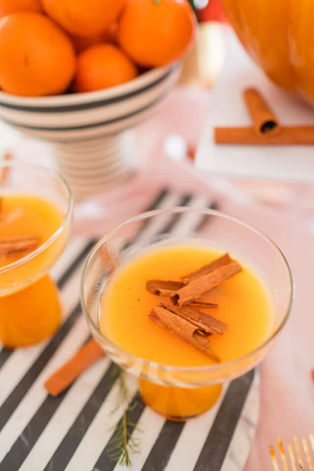 photo of thanksgiving cocktails
