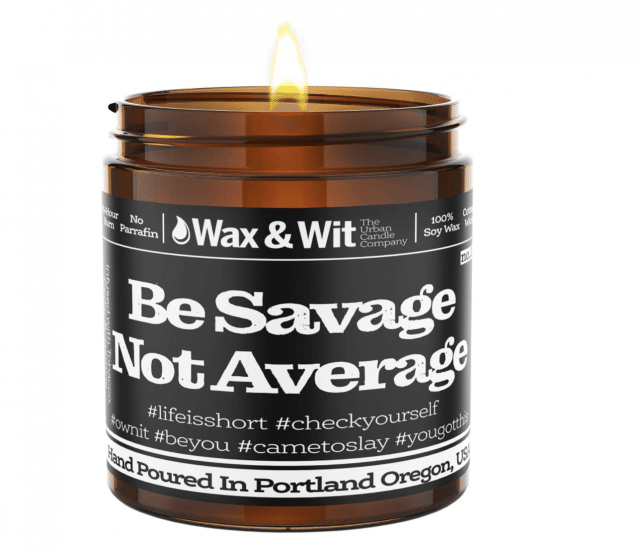 funny scented candle