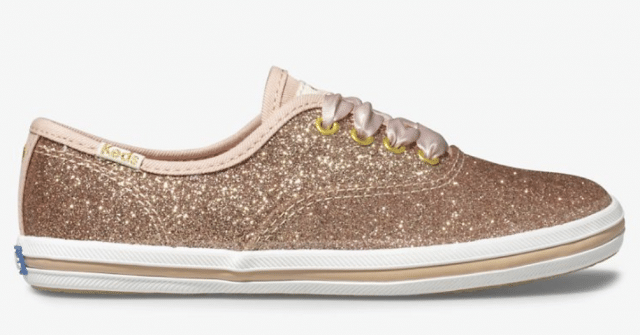 photo of glittery sneakers for girls