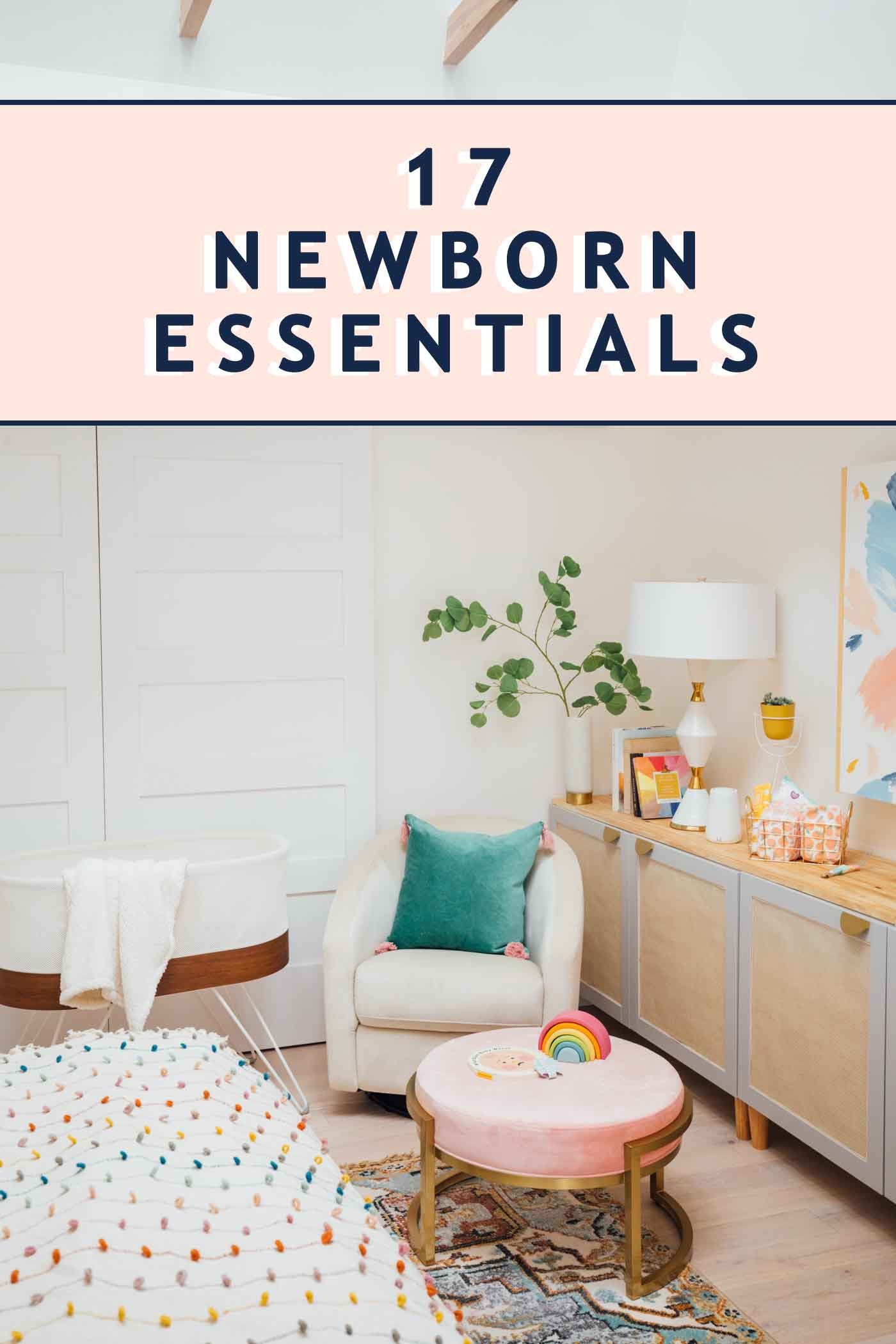 photo of new born essentials to shop for
