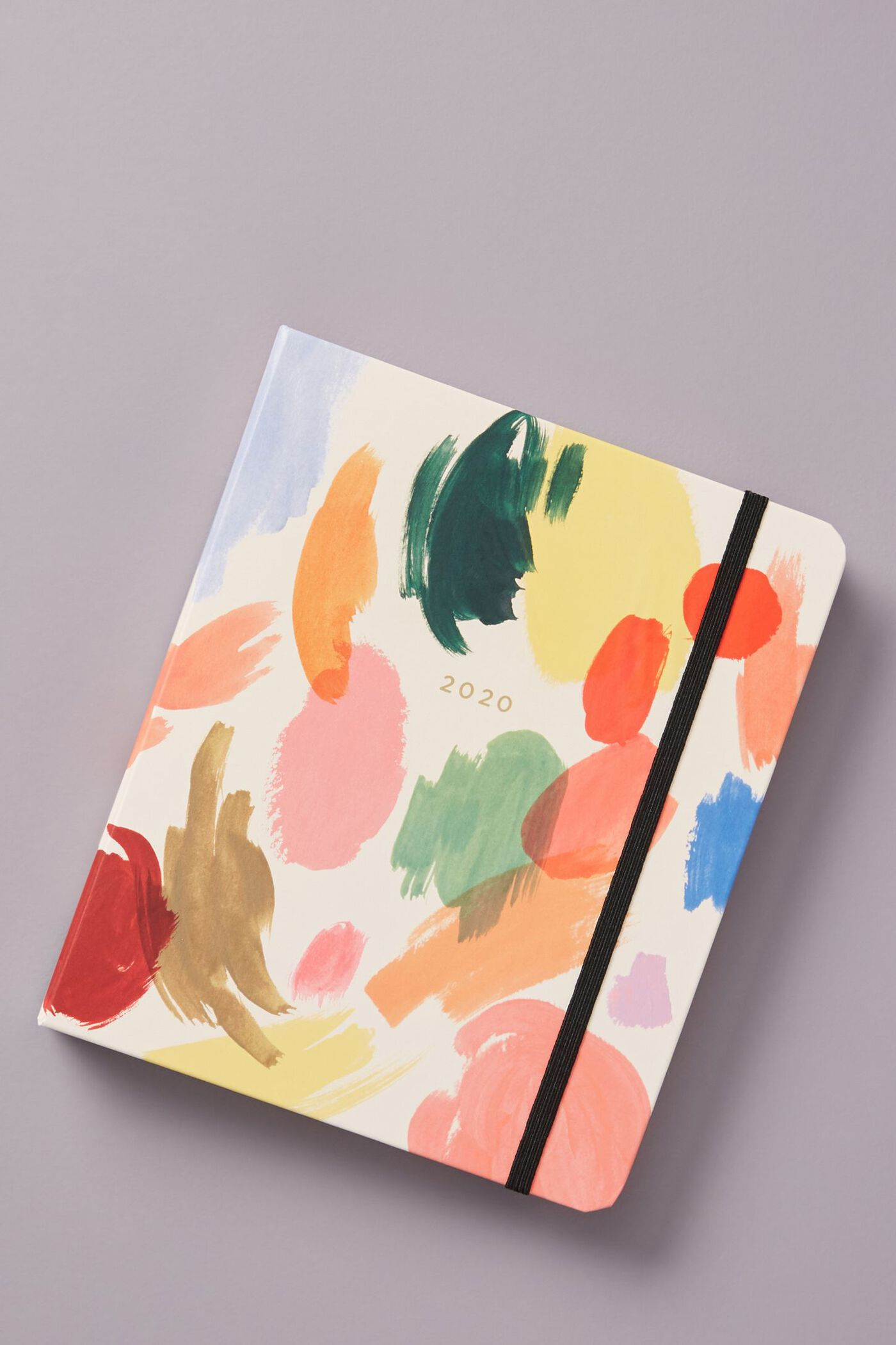 photo of a colorful 2020 planner