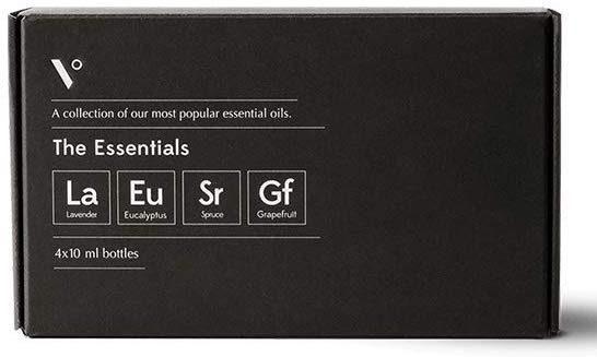 photo of essential oils set