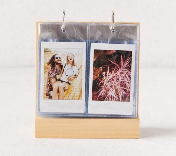 photo of instant film flip frame