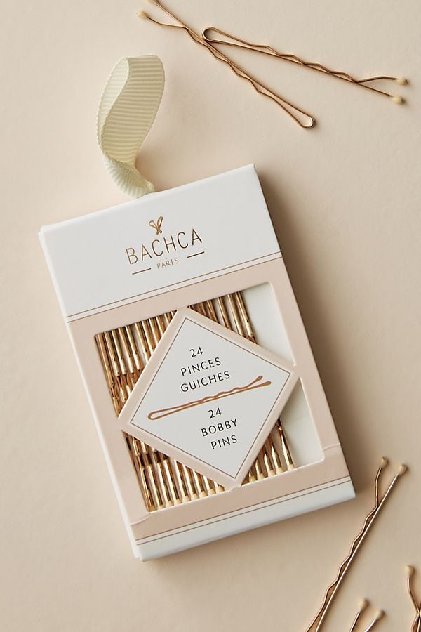 photo of set of gold bobby pins